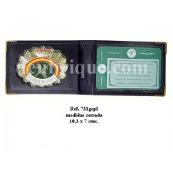 PLACA Y CARTERA GUARDIA CIVIL REF. 731GCPL