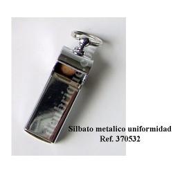 SILBATO METALICO NIQUELADO REF. 370532