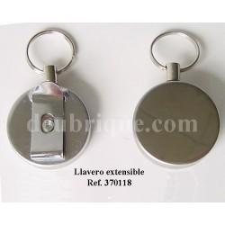 LLAVERO ACERO EXTENSIBLE REF. 370118