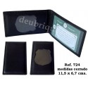 .CARTERA PORTAPLACA REF. 724