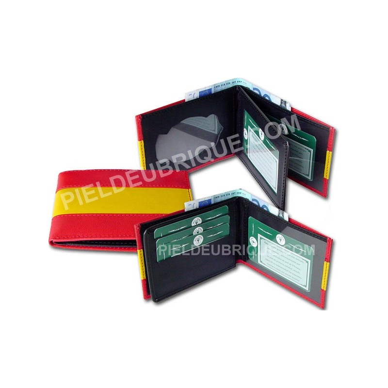 7ffdad45b Carteras billeteras Bandera España - enpieldeubrique.com