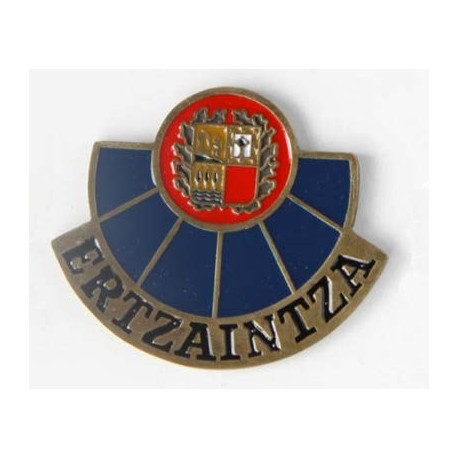 "PLACA INSIGNIA POLICIA PAIS VASCO ""ERTZAINTZA"""
