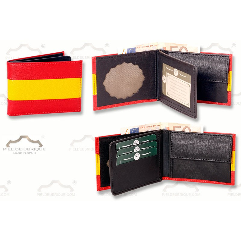 8e5daa41a Cartera con Monedero, guardia civil,Bandera España ...
